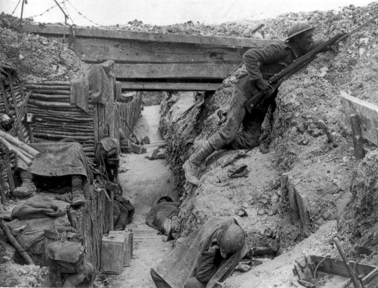 Gallipoli trenches